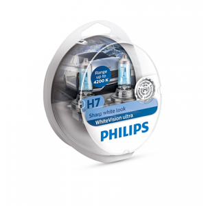 Лампа для фар Philips WhiteVision ultra H7