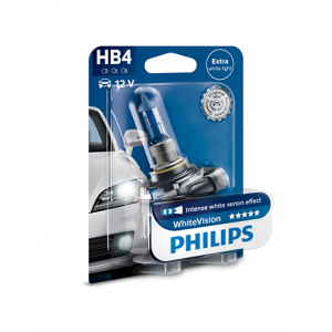Лампа для фар Philips WhiteVision HB4